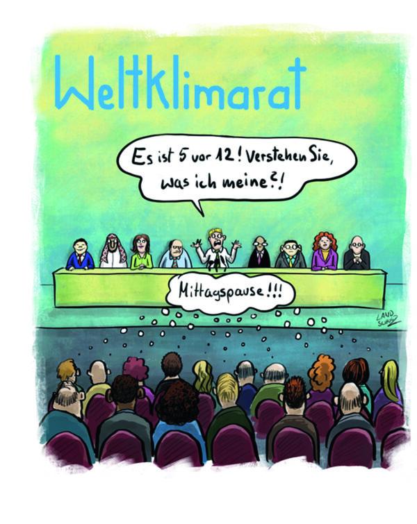 Cartoon: Weltklimarat