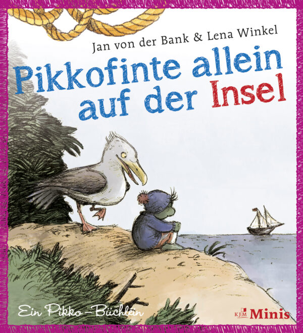 Pikkofinte allein auf der Insel